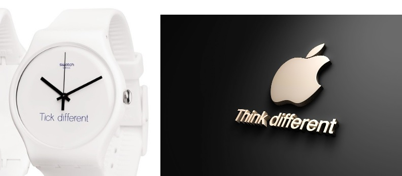 Trademark Battle Over Slogan Think Diffe Vs Tick